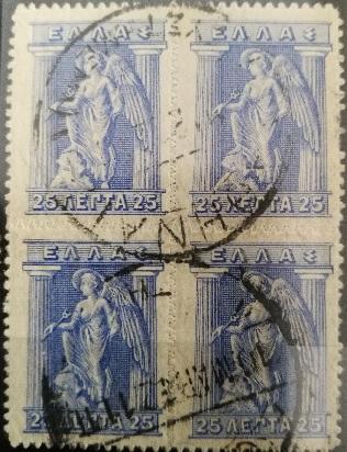 Bloc de 4 Iris de 1911
