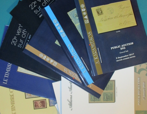 catalogues maisons de ventes