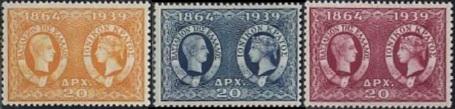 Valeurs double effigie 1939