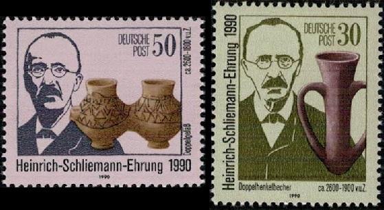 Heinrich Schliemann 1990 allemagne