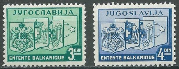 Entente Balkanique Yougoslavie 1938