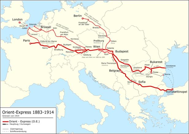 Orient express 1883-1914