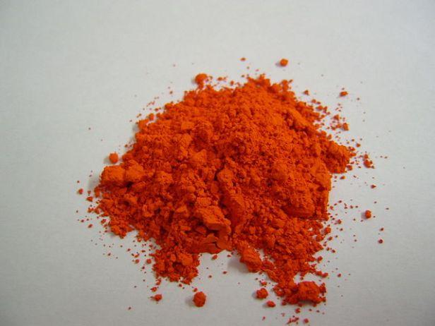Orange minium