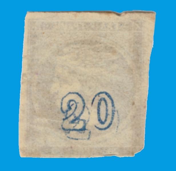 20 lepta double cn recto