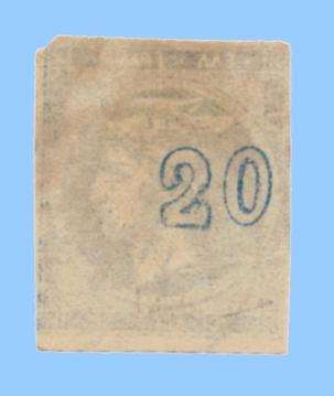 20 lepta CN deplace recto